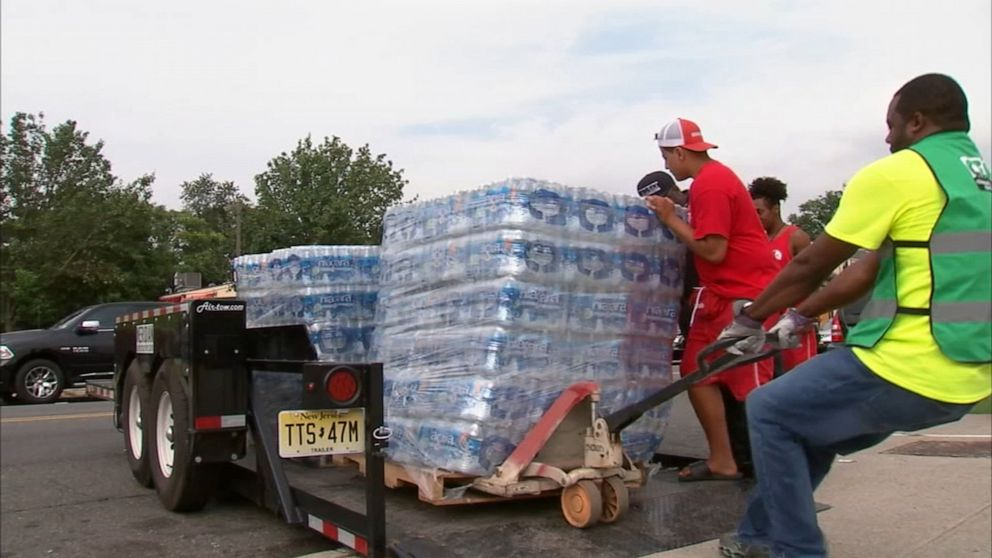 Lead crisis in Newark leads to distribution of bottled water, after filters fail to safeguard homes with old pipes