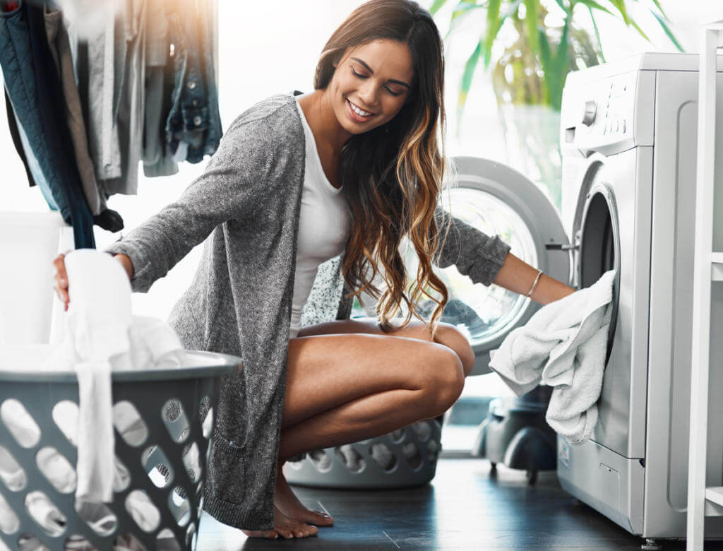 doing laundry without hard water