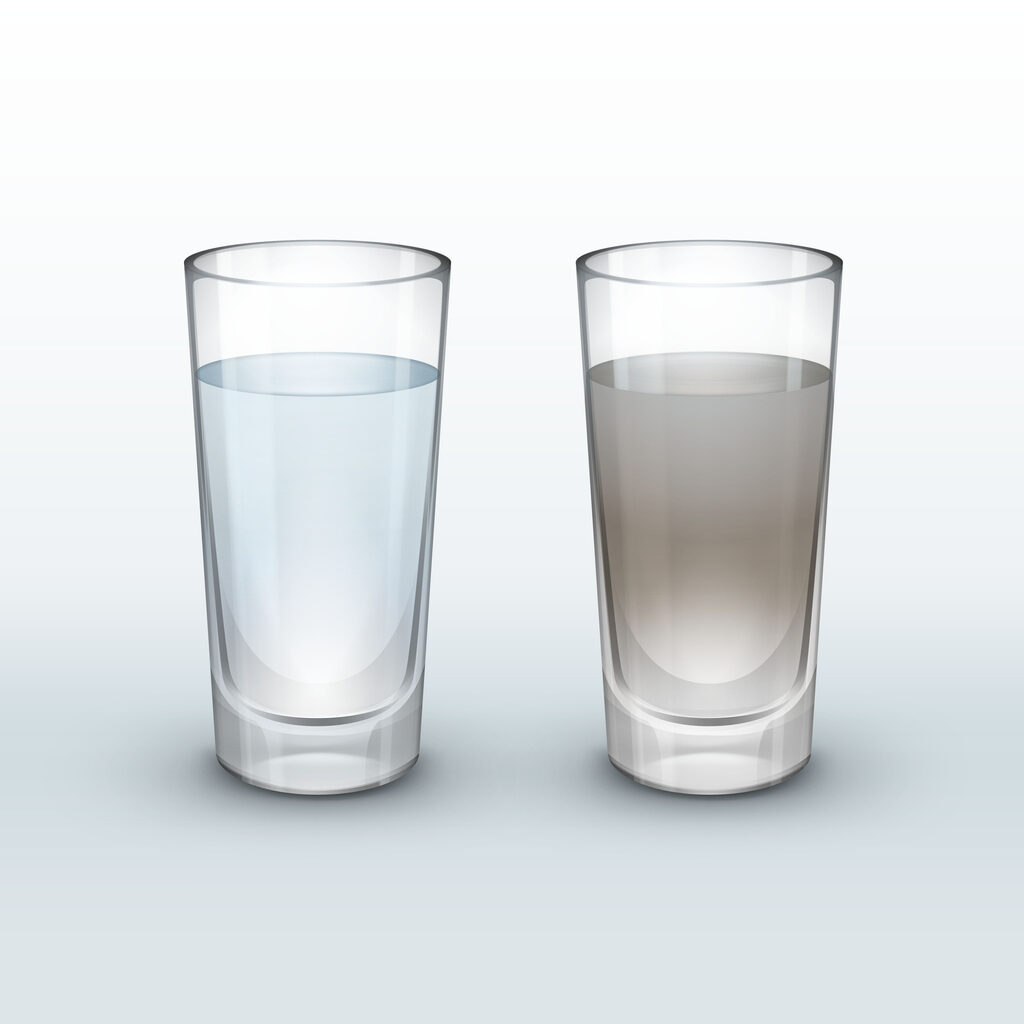 Effects and Elimination of Chemicals and Contaminants That Can Be Present in Unfiltered Water